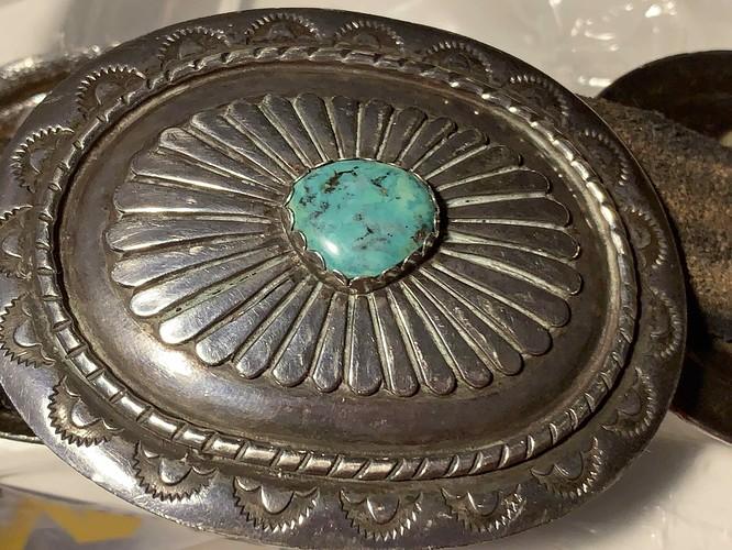 concho belt detail