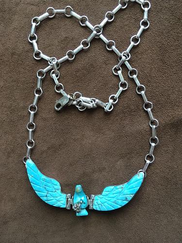 eagle necklace 1