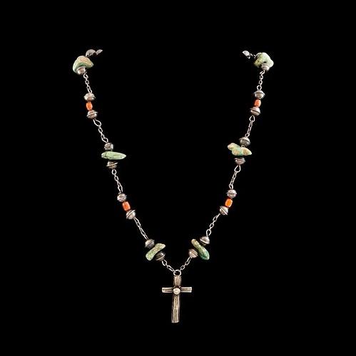 Cross necklace 2