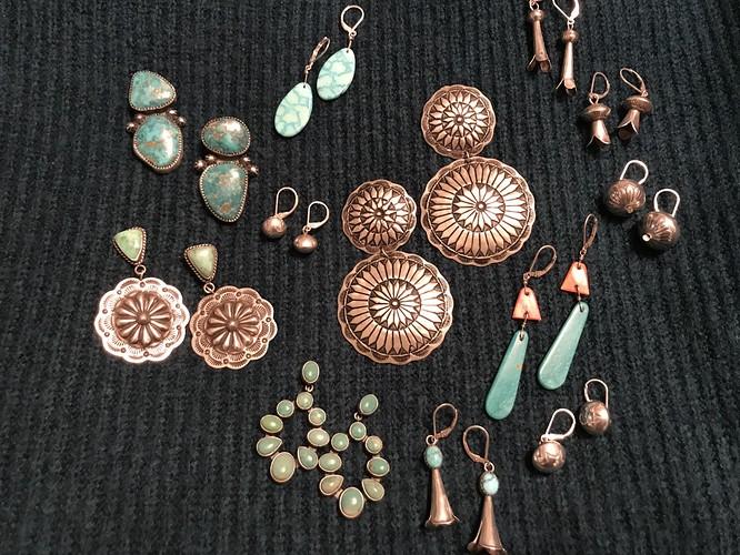 Earrings Navajo