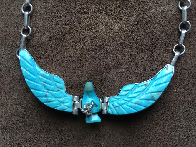 Eagle necklace 2
