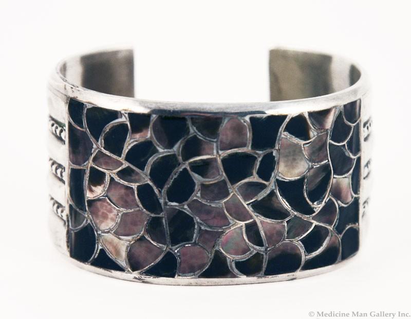 francis leeyka abalone fishscale bracelet