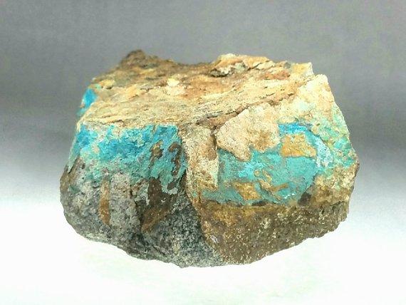 Cahuilla Margaret CM heishi necklace - California turquoise