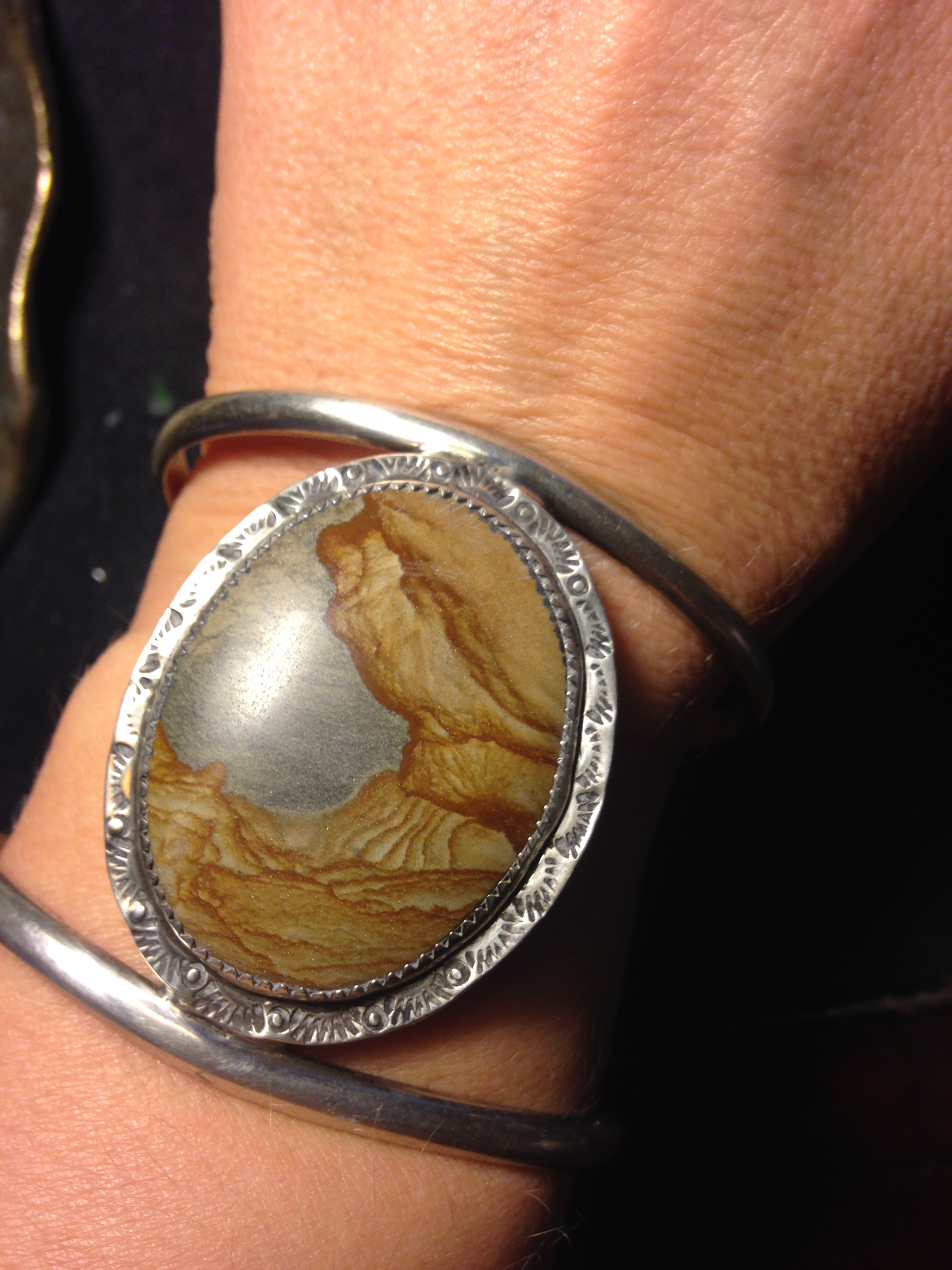 jewelry rings petrified las titanium band wood cypress wedding dianna hammered engagement finish beautiful rae